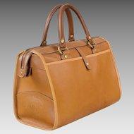 Marley Hodgson Leather Ghurka Handbag Rover - Vintage 1984 - No. 66