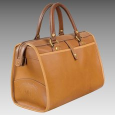 Marley Hodgson Leather Ghurka Handbag Rover - Vintage 1984 - No. 66