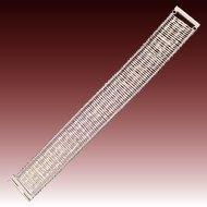 Sterling Silver 925 Flexible Bar Bracelet - Chateau d'Argent - Canada