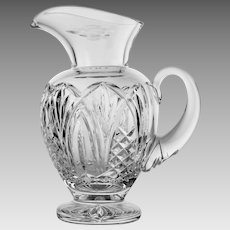 Waterford Crystal 38oz Bunratty Pitcher Romance of Ireland Collection