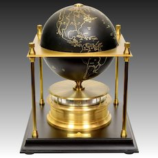 World Geographical Society Clock - Franklin Mint - 1979 / 1980 - Arthur Imhof S.A.