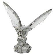 Vintage Val St Lambert Crystal Eagle by Katherine DeSousa