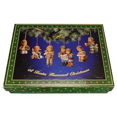 Set 61 A Berta Hummel Christmas Ornaments w/Box
