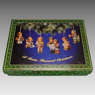 Set 61 A Berta Hummel Christmas Ornaments w/Box