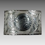 Vintage Acapulco Sterling Belt Buckle