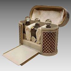Vintage Renoir Perfume Trio - Futur-Guirlandes-Messager - Original Presentation Box