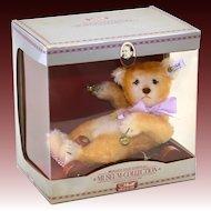 Steiff Baby Bear with Wagon - 0135/20 - LE 4000