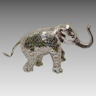 Christofle Lumiere Elephant Silverplate - Large