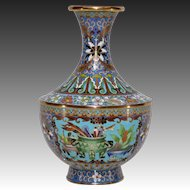 Vintage Maitland Smith Cloisonne Vase