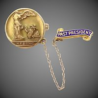 14k Gold National Federation of Business and Professional Women's Club Past President Pins