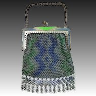 "Cute 4"" Doll's Art Deco Mesh Purse"