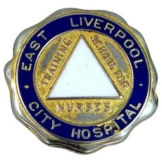 East Liverpool, Ohio City Hospital Nurses Training School Pin