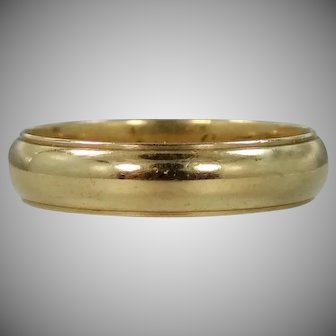 1950's 14k Solid Gold Size 9 3/4 Ring