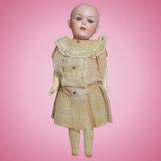 "All Original 13"" Limbach Porzellanfabrik Antique Bisque & Composition Doll"