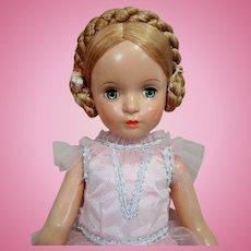 """Signed Madame Alexander 21"""" Karen Ballerina Doll Circa 1940's"""