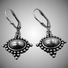 Southwestern Style Carlisle Jewelry Sterling Silver Dangle Earrings