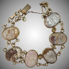 The Grand Tour of Italy VanDell Cameo Bracelet