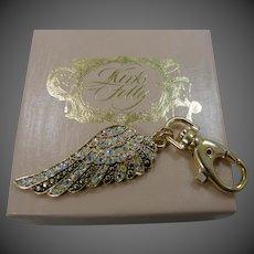 Kirk's Folly Angel Wing Key Ring Mint in Box