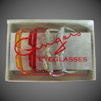 Cosmopolitan Ginger Doll Eyeglasses In Original Box