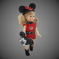 1950's Cosmopolitan Ginger Mousekarade Costume Complete Mickey Mouse