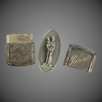 Ricordo Pocket Medal in Metal Case Saint Anthony Padua