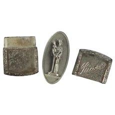 Ricordo Pocket Medal in Metal Case Saint Anthony Padua