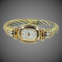 Joan Rivers Bangle Bracelet Quartz Wrist Watch