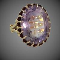 10k Gold Victorian Era Amethyst Ring