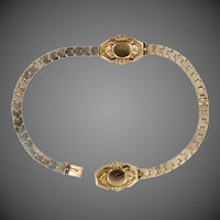 2 Victorian Gold Baby Bracelets Perfect for Dolls