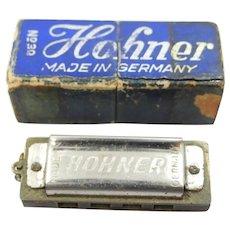 Tiny Hohner Germany Harmonica in Original Box