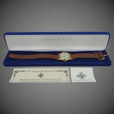 JBK Jackie Kennedy Quartz Watch in Original Camrose & Kross Box