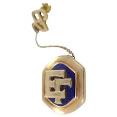 10k Solid Gold 1929 Epsilon Gamma Fraternity Pins