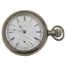 1878 Elgin Nat'l Watch Co. Pocket Watch Working Condition