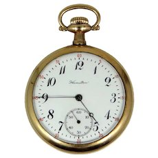 17j Hamilton Pocket Watch