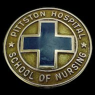 10k Gold 1965 Pittston Hospital School of Nursing Pin