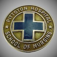 10k Gold 1965 Pittston Hospital School of Nursing Pin