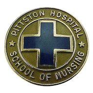 10k Gold 1978 Pittston Hospital School of Nursing Pin