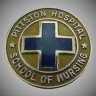 10k Gold 1978 Pittston Hospital School of Nursing Pin
