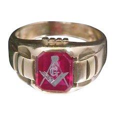 Ring Masonic Gold Jewelry | Ruby Lane - Page 4