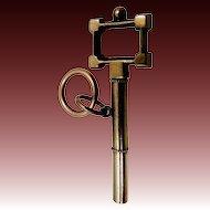 Victorian 14k Gold Watch Key