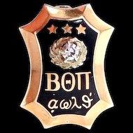 1939 10k Gold Beta Theta Pi Diamond Fraternity Pin