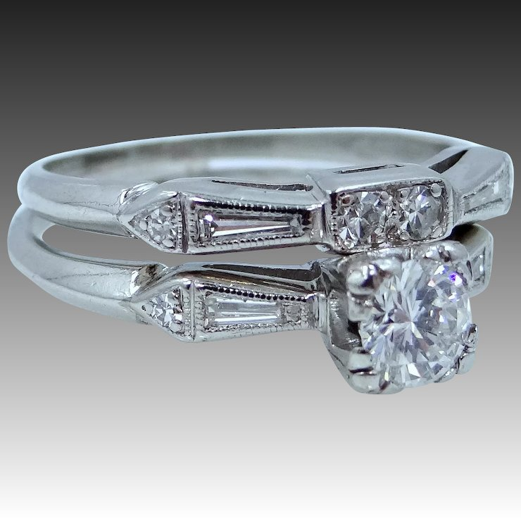 grams diamond and platinum hand details jewellery band set weight product second total ring engagement of wedding