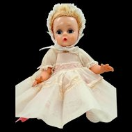 Madame Alexander Little Genius Doll With Original Dress