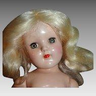 "Ideal 15"" High Platinum Blond Toni Doll P-91"