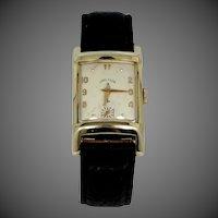 Lord Elgin 1950's Man's 21 Jewels #670 Wrist Watch