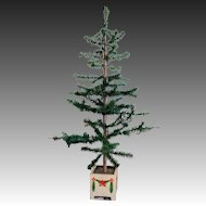"Victorian 44"" High German Feather Christmas Tree"