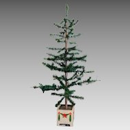 """Victorian 44"""" High German Feather Christmas Tree"""