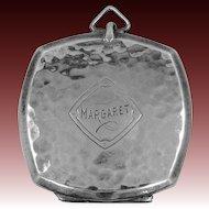 """Art Deco Webster & Co. Sterling Silver """"Margaret"""" Locket"""