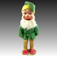 "U.S. Zone Germany, 8"" tall Composition Gnome Figurine"