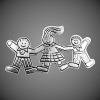 "Sterling Silver ""Save the Children"" Pin"